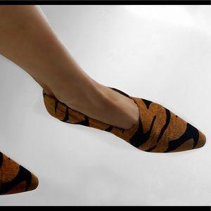 Claudio Merazzi Vintage 1980's Tigress Flats! Wow!